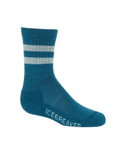 kids size 2-4 Icebreaker Kids Lifestyle Ultra Light Crew Socks Woodsy  size XL