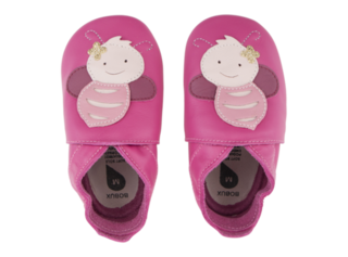 Bobux Soft Soles Shoes -Pink Bee