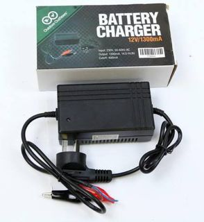 Outdoor Outfitters Battery Charger 12V 1300MA With Indicator Light