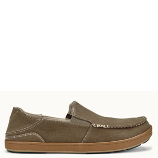 OluKai Mens Puhalu Canvas Slip On