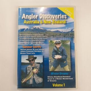 Angler Discoveries Vol 1 Australia and NZ DVD
