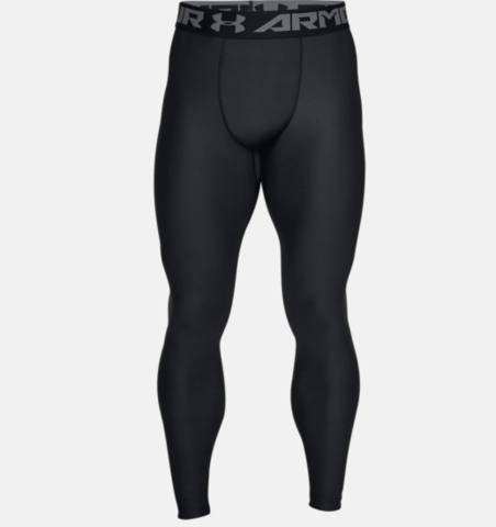 Under Armour Mens Heatgear Armour 2.0 Compression Leggings