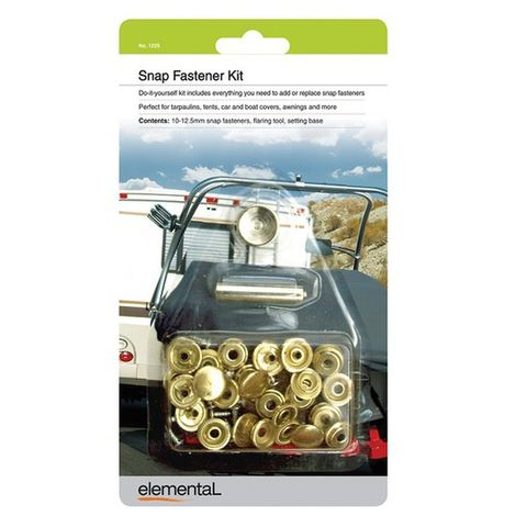 Elemental Snap Fastener Kit