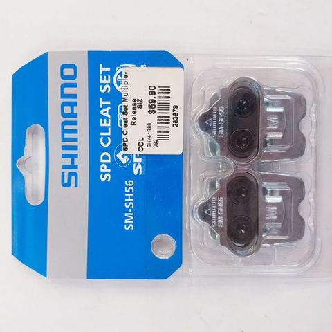 Shimano SPD Cleat Set SM-SH56 Multiple Release