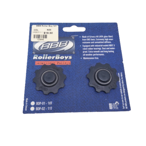 BBB Roller Boy Derailleur Pulleys 10T
