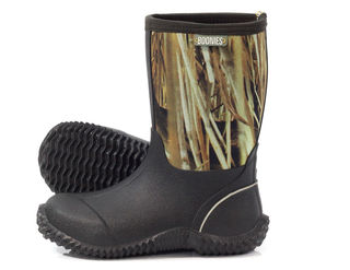 Boonies Youth Camo Gumboot