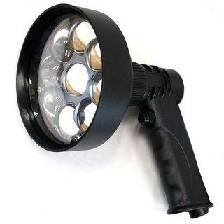 Night Saber 3000 Lumens 120mm Rechargeable Handheld LED Spotlight
