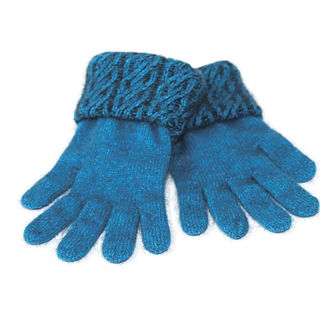 Koru Two Tone Cable Gloves