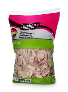 Weber Apple Wood Chips 900gr
