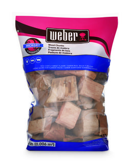 Weber Hickory Wood Chunks 1.8kg
