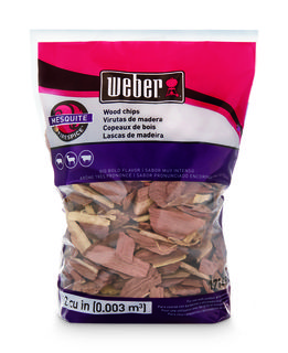 Weber Mesquite Wood Chips 900gr