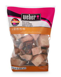 Weber Pecan Wood Chunks 1.8kg
