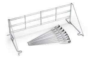 Weber Elevations Grill Rack and Skewer Set