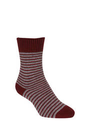 Native World Striped Dress Sock
