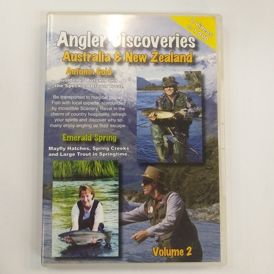 Angler Discoveries Vol 2 Australia and NZ DVD