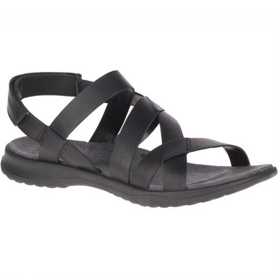Merrell Wmns Sunstone Cross Leather Sandal