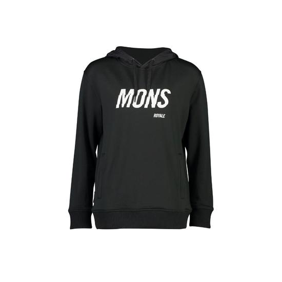 Mons Royale Wmns Decade Logo Hoody