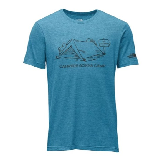 The North Face Mens Haters Tri-Blend Tee