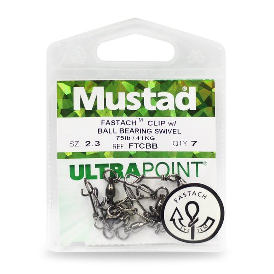 Mustad Swivel Bearing with Fastach Clip