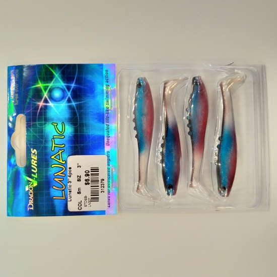 Dragon Lures Lunatic Soft Lures 3