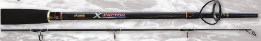 Okuma X-Factor 2pc 6'6 Trout Light Spin 1-5kg Rod