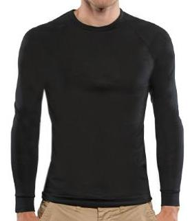 Brass Monkey Mens Long Sleeve Crew Neck