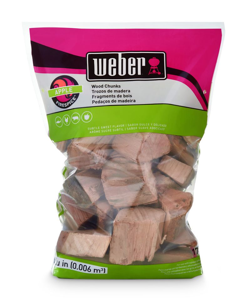 Weber Apple Wood Chunks 1.8kg