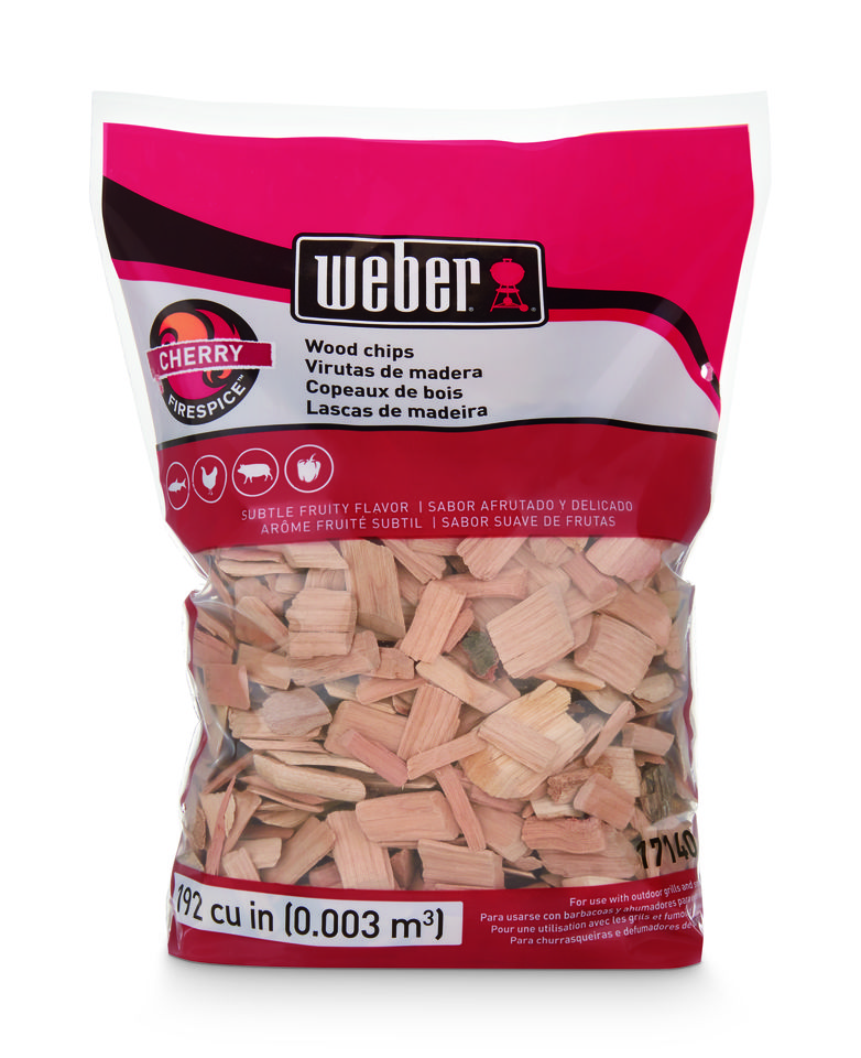 Weber Cherry Wood Chips 900gr