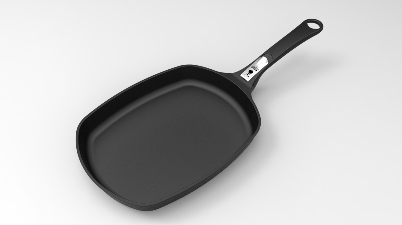 Weber Ware Large Frying Pan