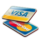 Payment can be made by Visam Mastercard or Online Banking